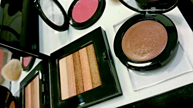 Bobbi Brow Telluride Sunset Pink Shimmer Brick and Telluride Pot Rouge