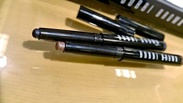 Bobbi Brown Midnight, Greige Long-Wear Cream Shadow Stick