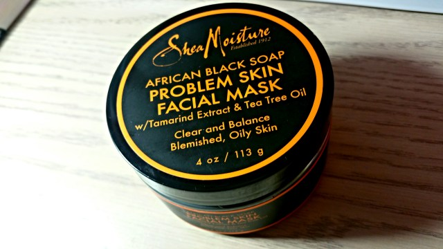 Shea Moisture African Black Soap Problem Skin Facial Mask