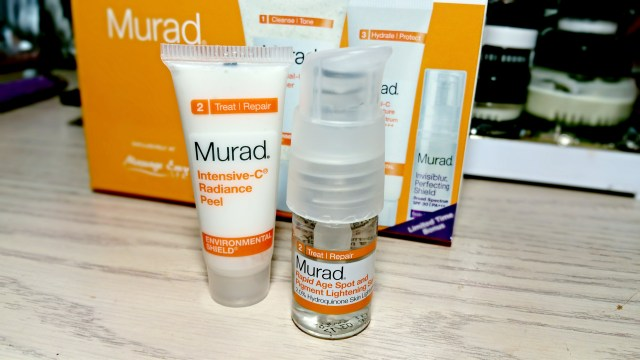Murad Intensive-C Radiance Peel, Rapid Age Spot and Pigment Lightening Serum