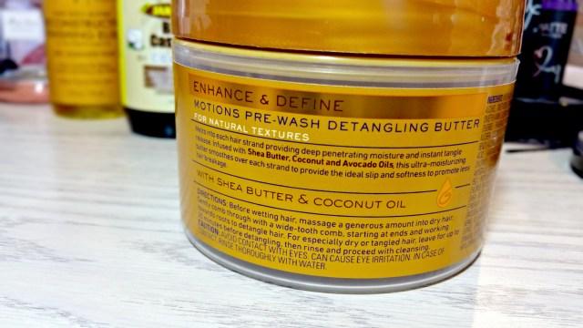 Motions Pre-Wash Detangling Butter
