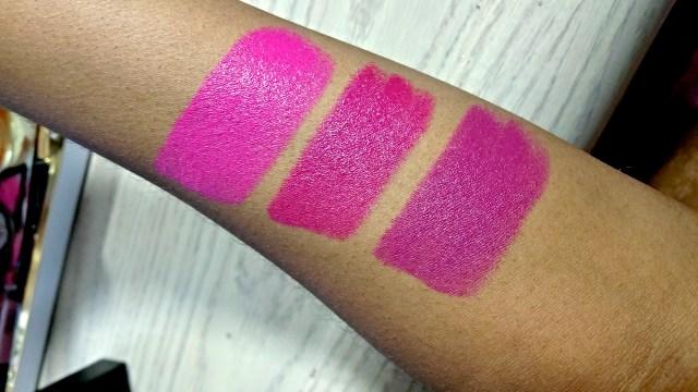 NARS Michiyo, Janet, Fanny Audacious Lipstick