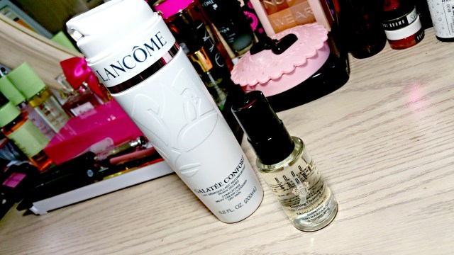 Lancome Galatee Confort Milky Cream Cleanser, Bobbi Brown Soothing Cleansing Oil, Double Cleanse