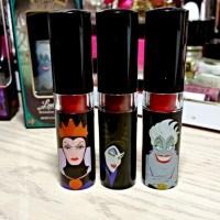 Walgreens Disney Villains Lipsticks Review