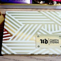 Urban Decay Gwen Stefani Eyeshadow Palette Swatches
