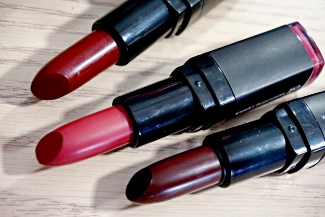 ELF Black Berry, Berry Kiss, Bordeaux Beauty Moisturizing Lipstick