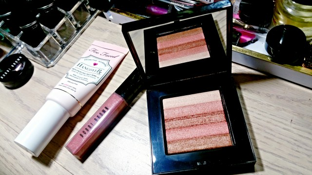 Bobbi Brown Sunset Pink Shimmer Brick