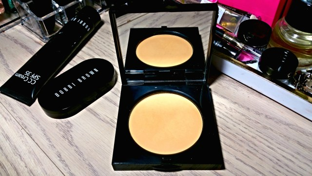 Bobbi Brown Golden Orange Sheer Finish Pressed Powder