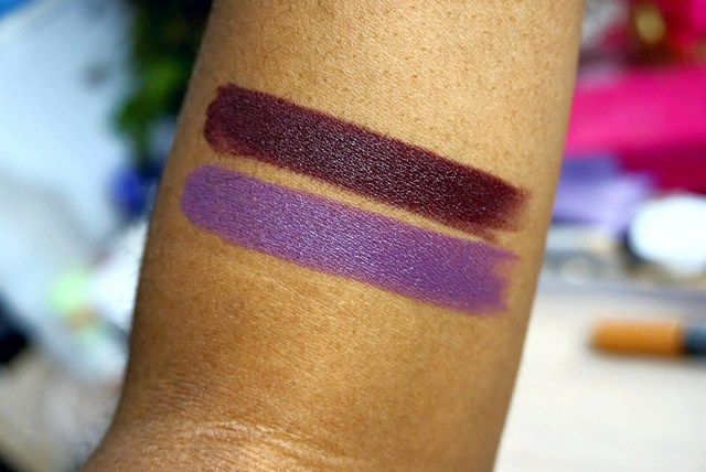 NYX Goal Digger & Up the Bass Matte Lipstick