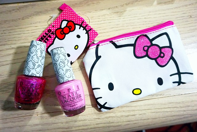 OPI Hello Kitty Coin in My Purse: Look at My Bow!, Starry-Eyed for Dear Daniel