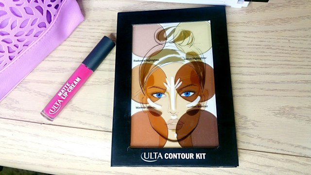 Ulta Contour Kit + Striking Matte Lip Cream