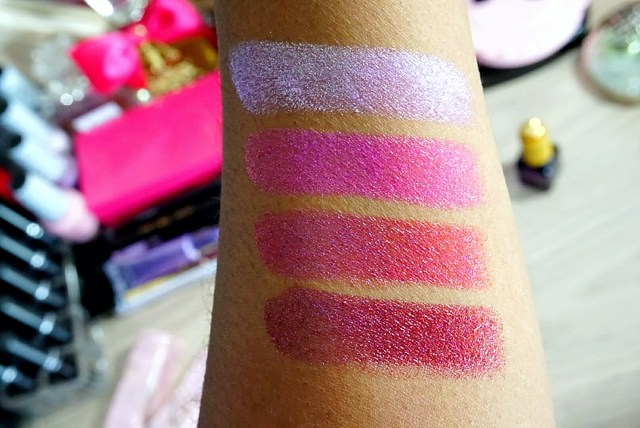 Too Faced Clueless, Mean Girls, WHAM!, Ursula La Creme Color Drenched Lipstick