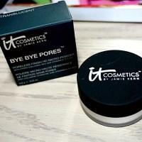 It Cosmetics Bye Bye Pores Silk HD Anti-Aging Micro-Powder Review