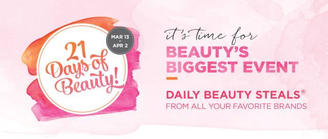 Ulta 21 Days of Beauty for Spring 2016