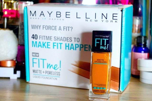 Influenster Maybelline Fit Me Vox Box