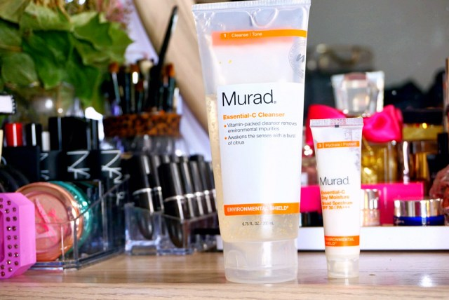 Murad Essential-C Cleanser + Essential-C Day Moisture