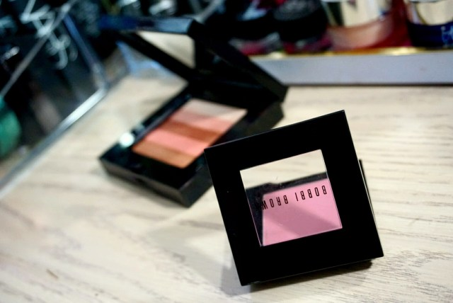 Bobbi Brown Desert Pink Blush + Sunset Pink Shimmer Brick
