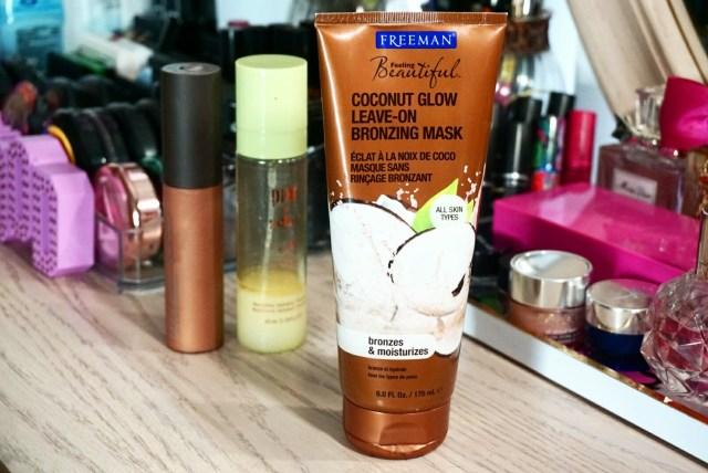 Freeman Beauty Coconut Glow Leave-On Bronzing Mask
