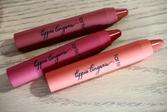 Tarte Lippie Lingerie Matte Lip Tint in Undressed, Envy, Whisper