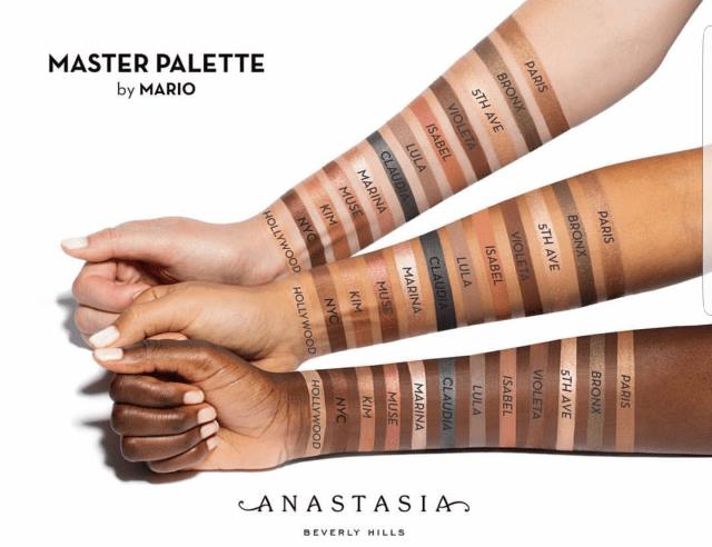 Anastasia Beverly Hills Master Palette by Mario