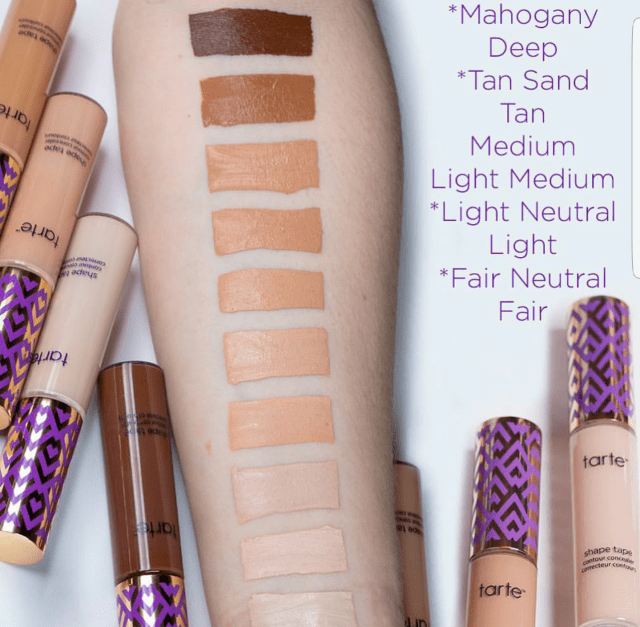 New Tarte Shape Tape Contour Concealer Shades!