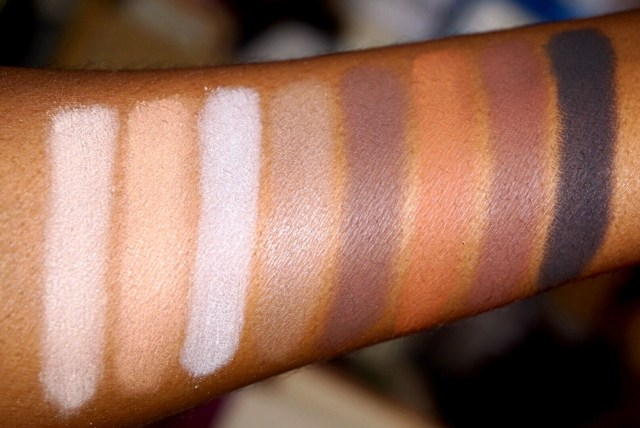 LORAC Mega Pro 3 Palette Swatches and First Impressions on Dark Skin