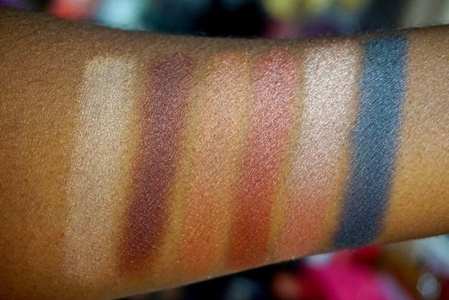 Anastasia Beverly Hills Master Palette by Mario Swatches on Dark Skin