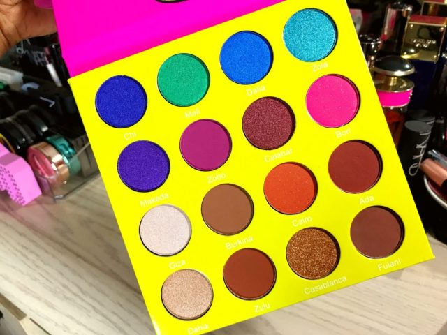 Project BOMB: Juvia's Place Mini Masquerade Eyeshadow Palette