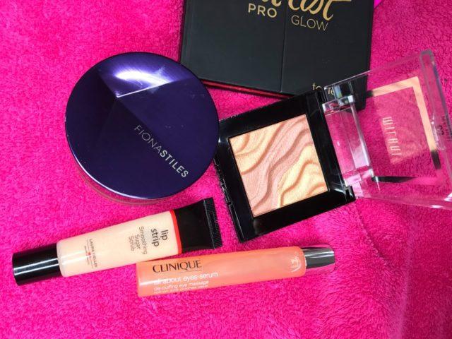 Milani Golden Light Face and Eye Strobe Palette, Fiona Stiles Miramar Invisible Finish Loose Setting Powder