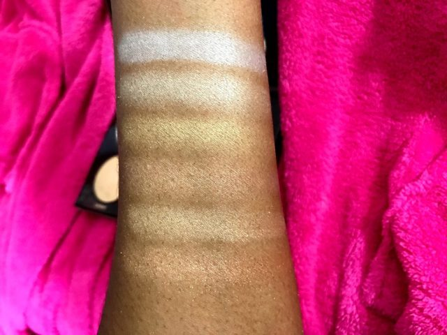 Anastasia Beverly Hills Ultimate Glow Kit Review Swatches on Dark Skin