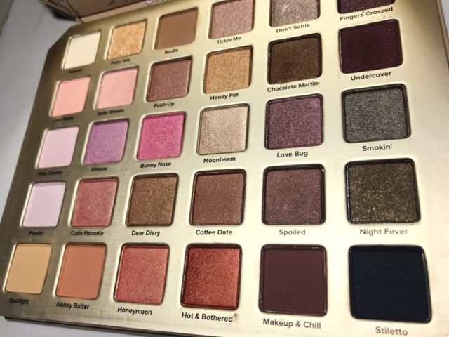 Too Faced Natural Love Eyeshadow Palette Swatches on Dark Skin