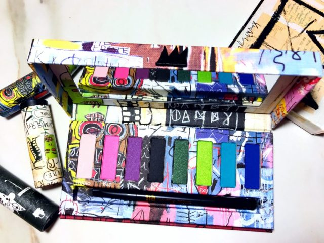Urban Decay x Jean-Michael Basquiat Collection Tenant Eyeshadow Palette Swatches on Dark Skin