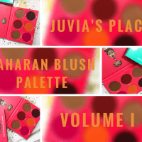 Juvia's Place Saharan Blush Palette Volume I Swatches