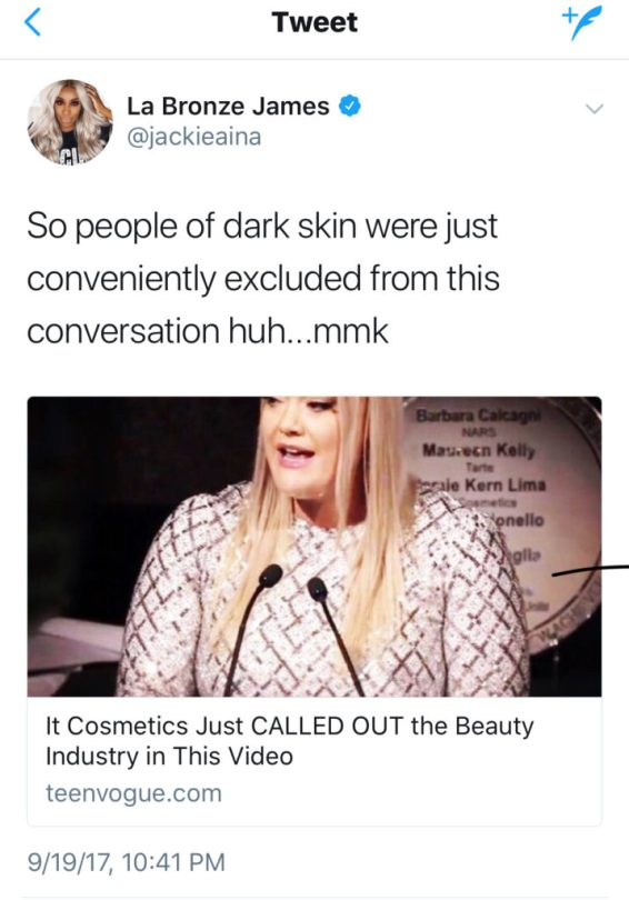 It Cosmetics Cancelled: Jamie Kern Lima Talks Diversity