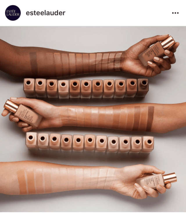 We NEEDED Fenty Beauty and Here's Why: Estee Lauder Double Wear Foundation Instagram