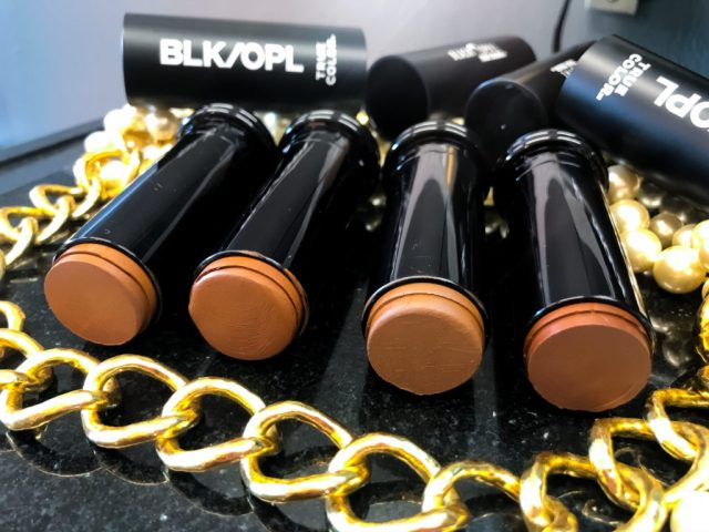 Black Opal True Color Foundation Stick Swatches Review: Carob, Suede Mocha, Black Walnut, Ebony Brown