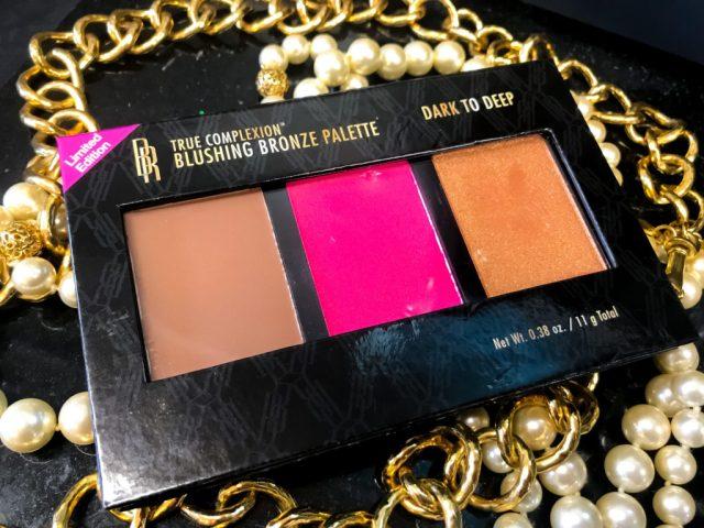 Black Radiance Blushing Bronze Palette in Dark to Deep Swatches Review Dark Skin