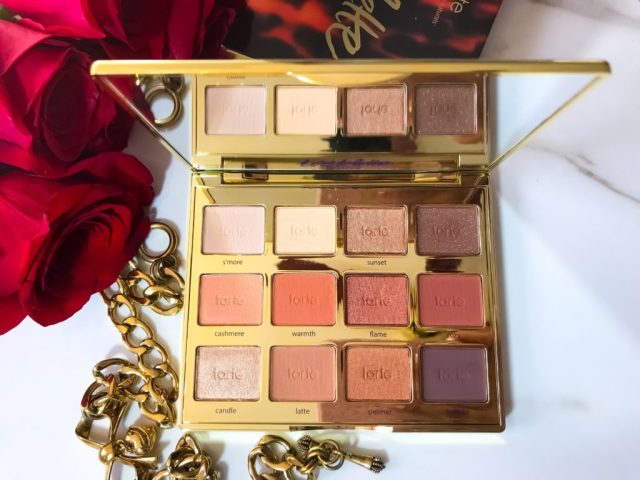 Tarte Tartelette Toasted Eyeshadow Palette Swatches Dark Skin