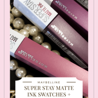 Eat, Drink and Be Merry in the New Maybelline Super Stay Matte Ink Liquid Lipstick!