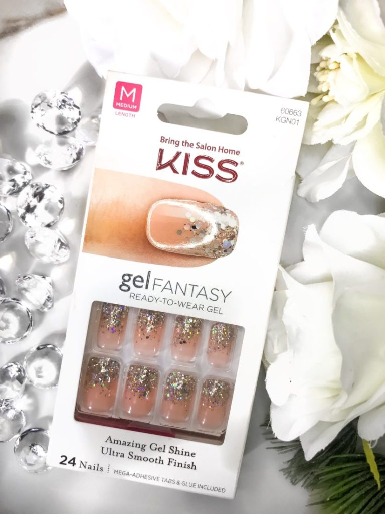 Easy DIY Salon Manicure with Kiss Gel Fantasy Press On Nails!