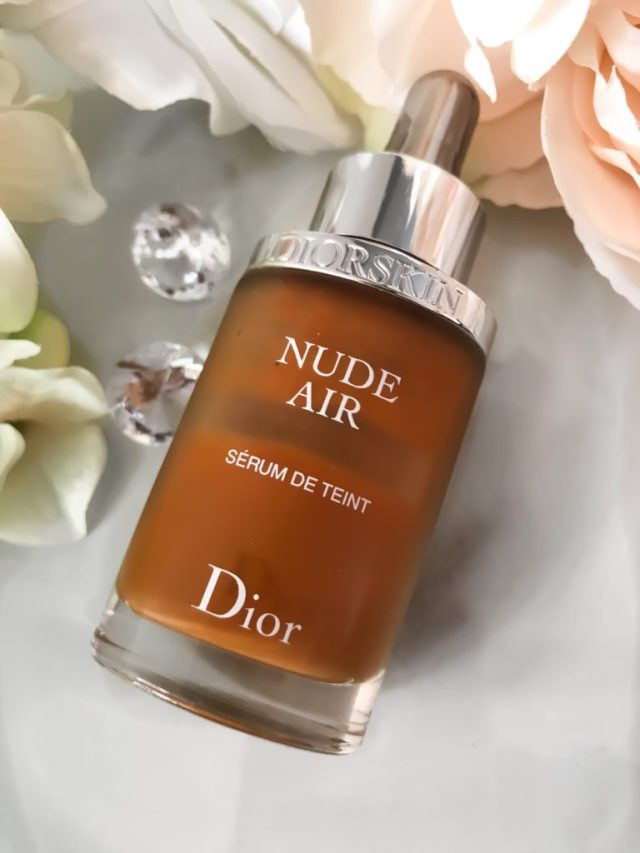 Best Foundation of 2017: Dior DiorSkin Nude Air Serum Foundation