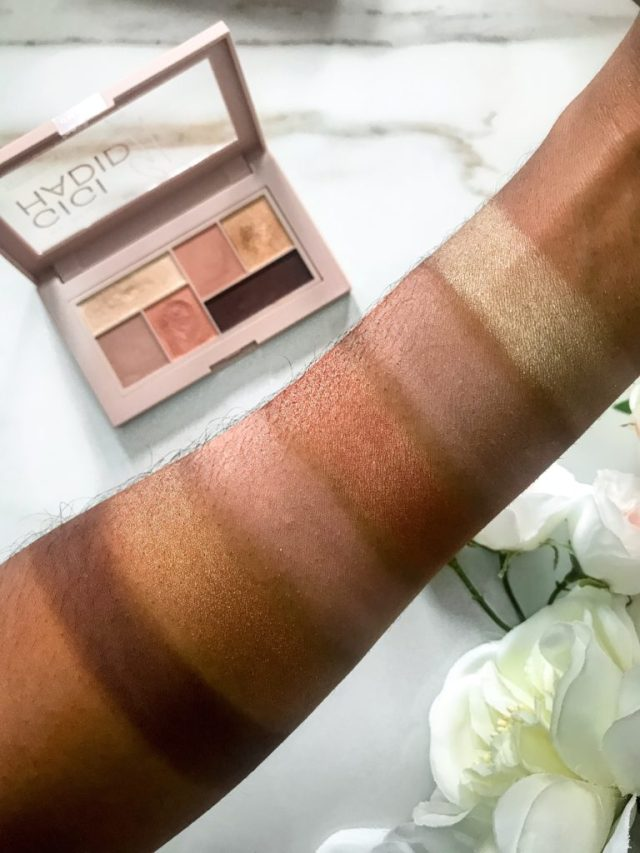 Maybelline x Gigi Hadid Collection West Coast Glow Warm Eyeshadow Palette