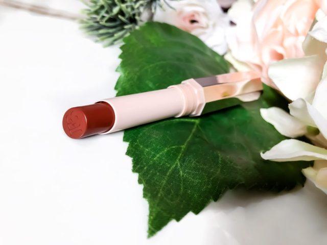 Fenty Beauty MatteMoiselle Plush Matte Lipstick in Shawty Swatches on Dark Skin
