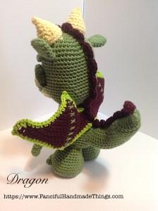 dragon side back