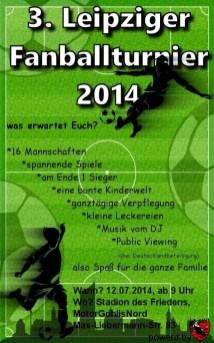 3. Leipziger Fanballturnier 2014