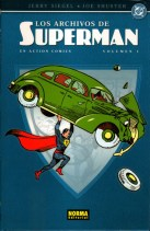 Portada de Los archivos de Superman