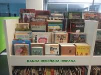 Cómic español e hispanoamericano e Cómic galego na Biblioteca Os Rosales
