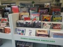 Cómic americano na Biblioteca Os Rosales