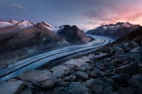 Glacier-Mountains