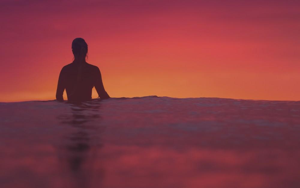 Surf-Sunset